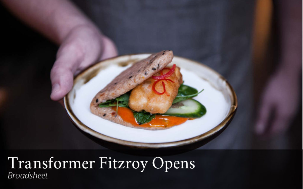Transformer Fitzroy Vegetarian in Melbourne