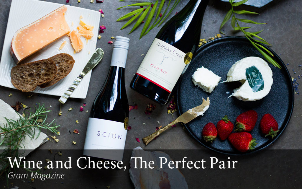 Australian wine and cheese pairings Milk the Cow